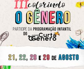 Colorindo o Gênero abre inscrições para programação infantil